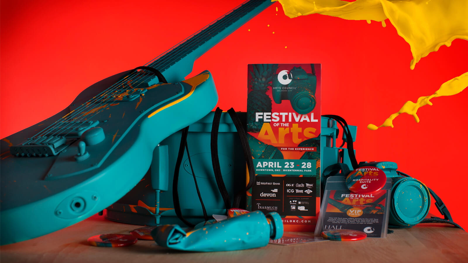 Brand for Arts Council Oklahoma City's Festival of the Arts 2019