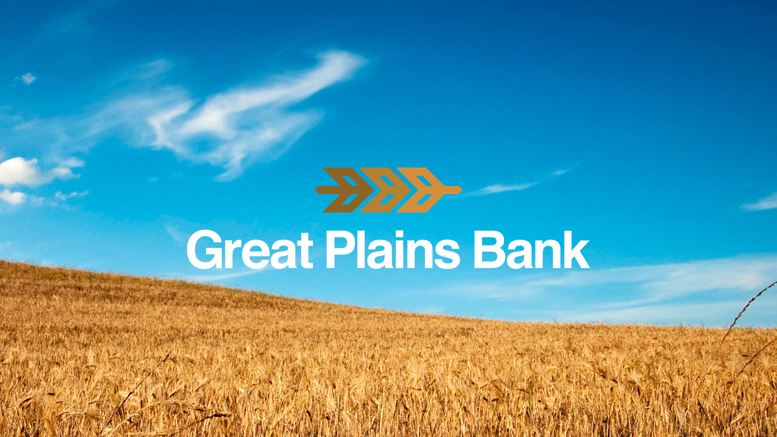 Rebrand project for Great Plains Bank