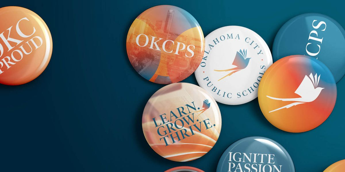 Logo design and branding for Oklahoma City Public Schools