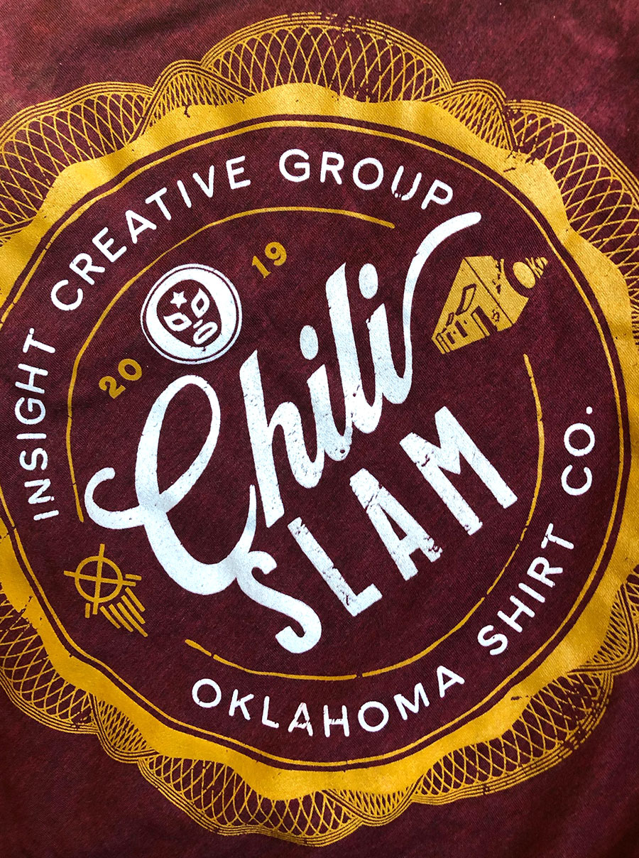 ICG Chili Slam 2019 t-shirt design
