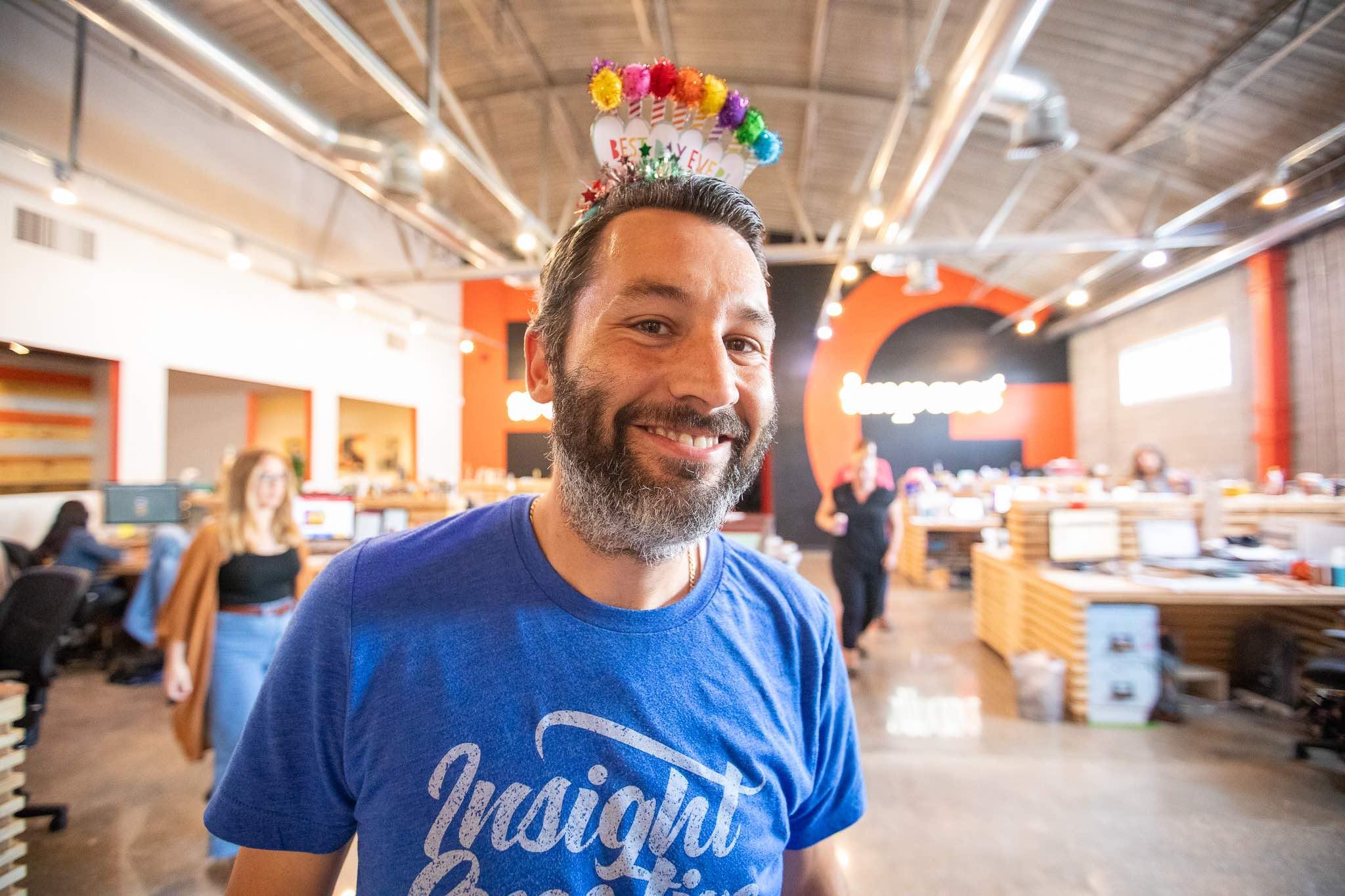 Scott Kubes has a birthday at ICG
