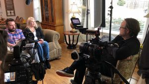 Behind the scenes interview with the Swiggarts for Angels Foster Family Network