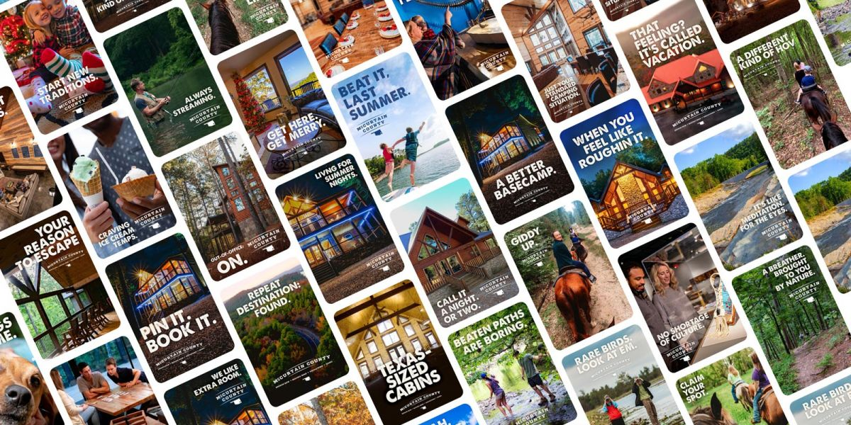 There's a million reasons to visit McCurtain County. Tourism branding and marketing.