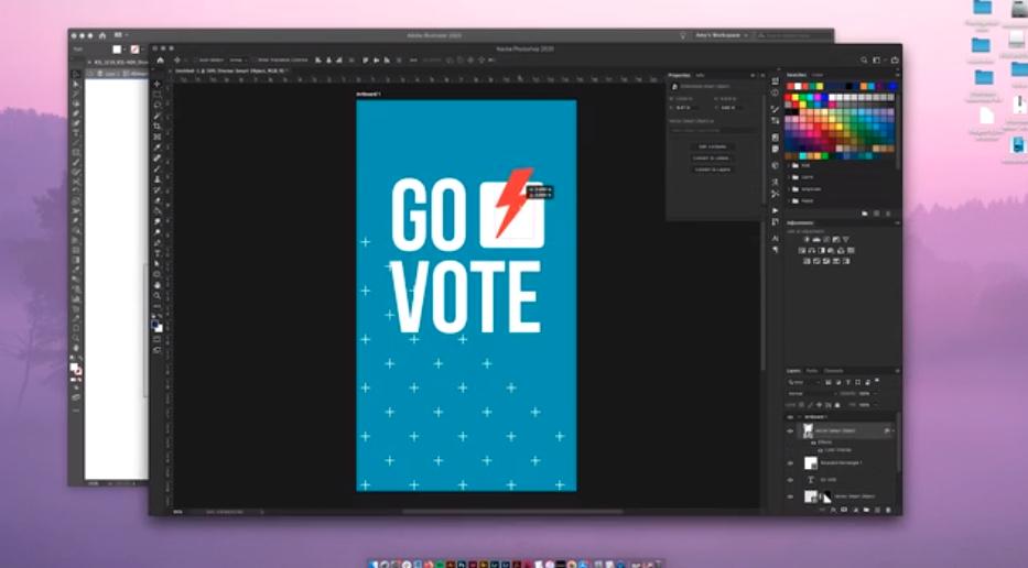 Go vote ICG